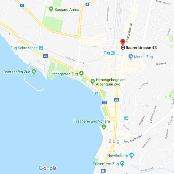 Kieferorthopädie Zug Switzerland Kieferorthopäden Zug Anfahrt Google Maps Detail
